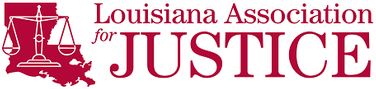 Logo Recognizing Grady J Flattmann, Attorneys at Law LLC's affiliation with the Louisiana Association for Justice