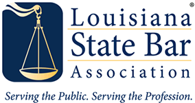Logo Recognizing Grady J Flattmann, Attorneys at Law LLC's affiliation with the Louisiana State Bar Association